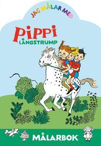 bokomslag Jag målar med Pippi Långstrump : Målarbok