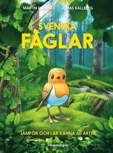 bokomslag Svenska fåglar : jämför och lär känna 40 arter