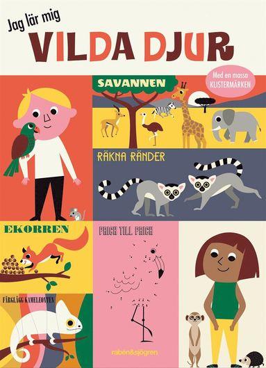 bokomslag Jag lär mig vilda djur