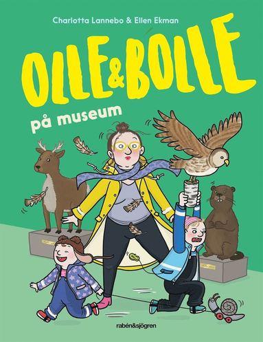 bokomslag Olle och Bolle på museum