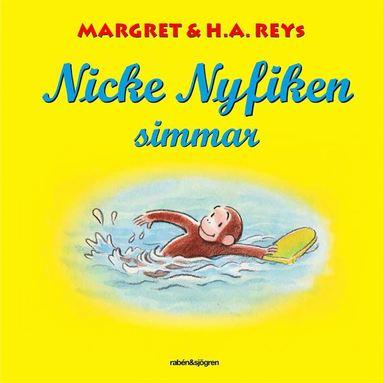 bokomslag Nicke Nyfiken simmar