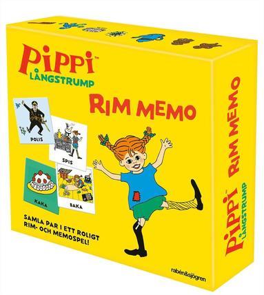 Rim memo Pippi Långstrump