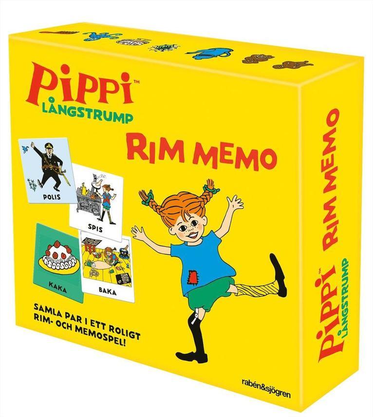 Rim memo Pippi Långstrump 1