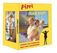 bokomslag Pippi kan allt : pekbok och kubpussel