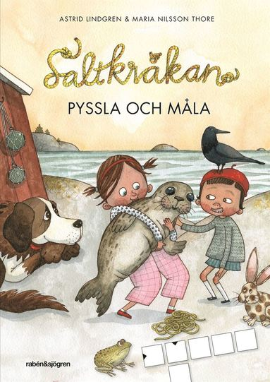 bokomslag Saltkråkan - Pyssla och måla