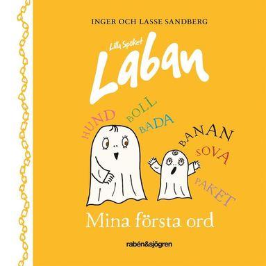 bokomslag Lilla Spöket Laban - Mina första ord