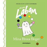 bokomslag Lilla Spöket Laban - Mina första färger