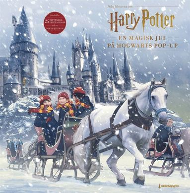 bokomslag En magisk jul på Hogwarts : Harry Potter Adventskalender Pop-up