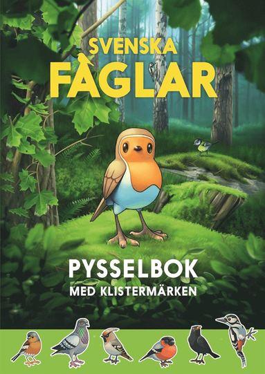 bokomslag Svenska fåglar pysselbok : med klistermärken