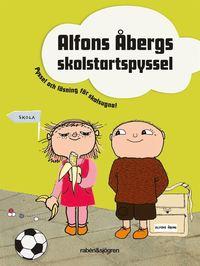 bokomslag Alfons Åbergs skolstartspyssel