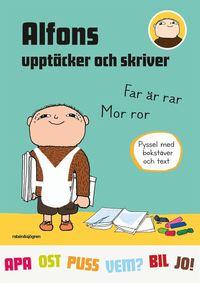 bokomslag Alfons upptäcker och skriver