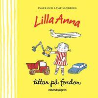 bokomslag Lilla Anna tittar på fordon