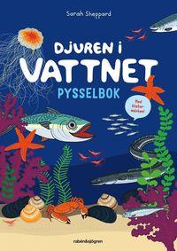 bokomslag Djuren i vattnet pysselbok
