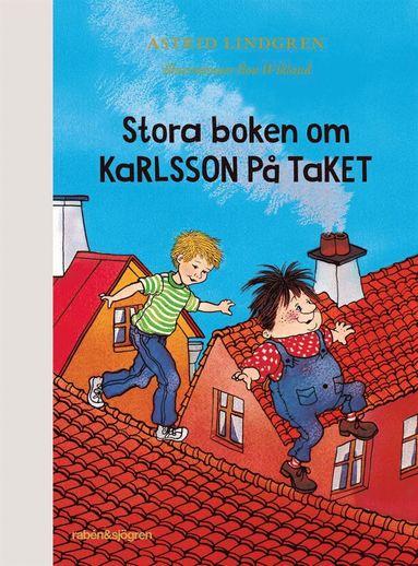 bokomslag Stora boken om Karlsson på taket