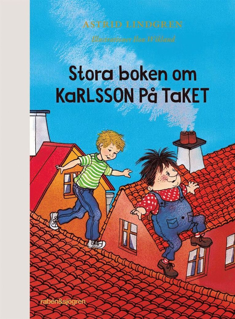 Stora boken om Karlsson på taket 1