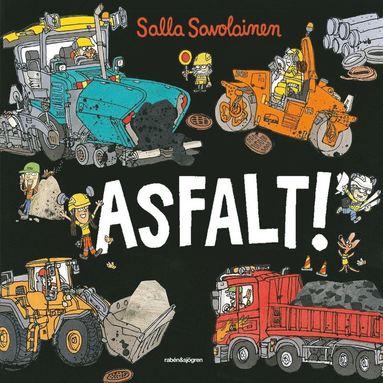 bokomslag Asfalt!
