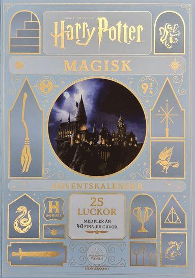 bokomslag Harry Potter Magisk adventskalender