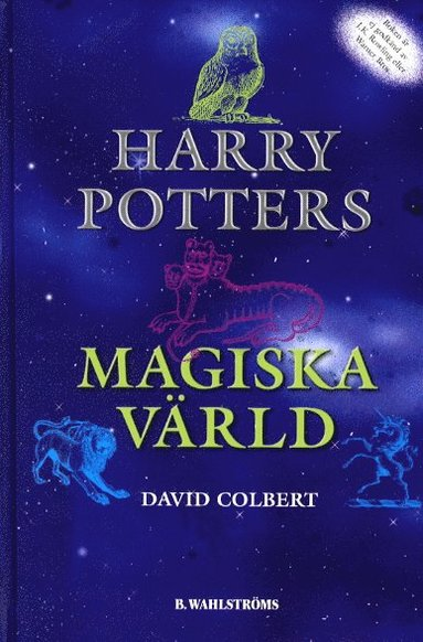 bokomslag Harry Potters magiska värld