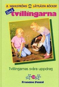 bokomslag Tvillingarnas svåra uppdrag 14