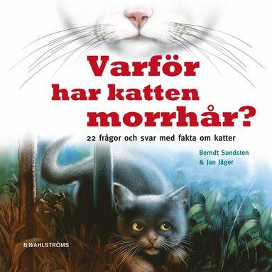 bokomslag Varför har katten morrhår? : 22 frågor och svar med fakta om katter