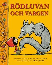 bokomslag Rödluvan och vargen