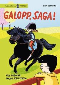 bokomslag Galopp, Saga!