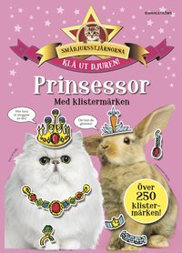 bokomslag Prinsessor med klistermärken