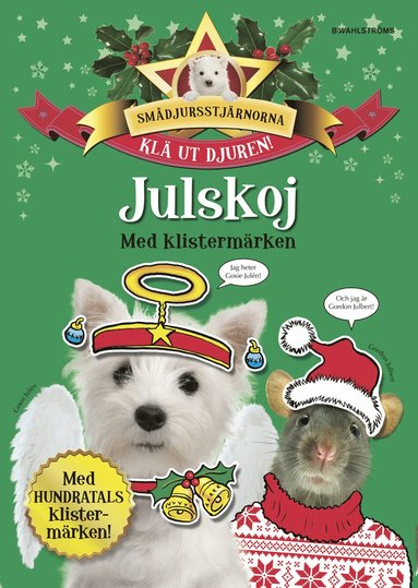 bokomslag Julskoj med klistermärken