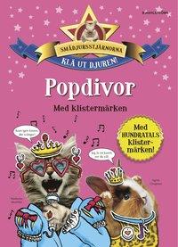 bokomslag Popdivor med klistermärken