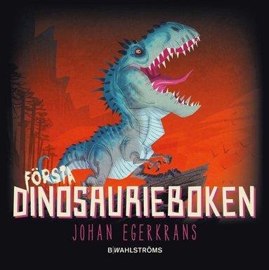 bokomslag Första dinosaurieboken