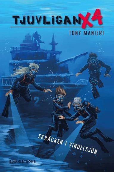 bokomslag Tjuvligan X4 - Skräcken i Vindelsjön