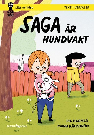 bokomslag Saga är hundvakt