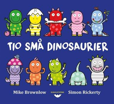 bokomslag Tio små dinosaurier