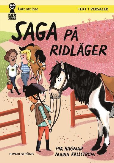 bokomslag Saga på ridläger