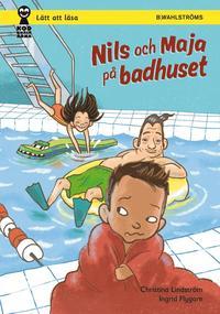 bokomslag Nils och Maja på badhuset