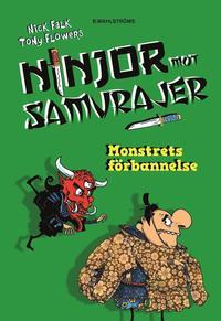 bokomslag Ninjor mot samurajer 4. Monstrets förbannelse