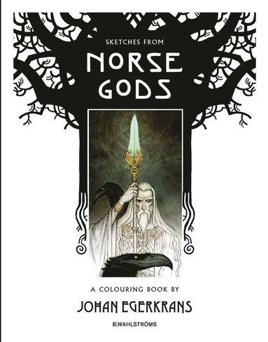 bokomslag Sketches from Norse Gods - A Colouring Book