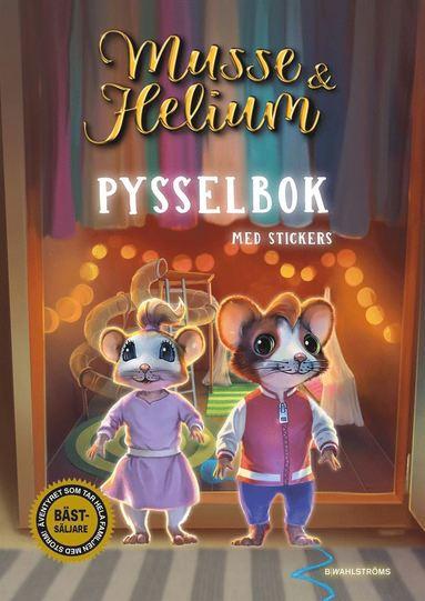bokomslag Musse & Helium Pysselbok : med stickers