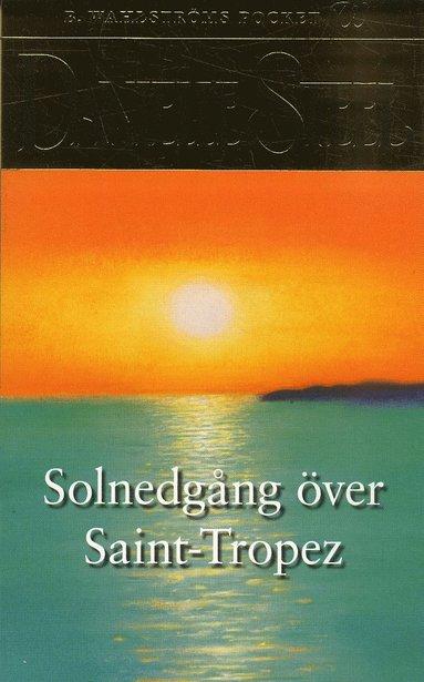 bokomslag Solnedgång över Saint-Tropez