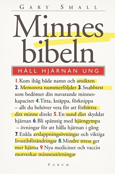 bokomslag Minnesbibeln : håll hjärnan ung