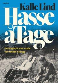 bokomslag HasseåTage : Humorparet som roade och retade Sverige