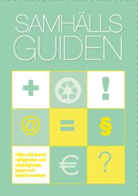 bokomslag Samhällsguiden : en handbok i offentlig service 2017