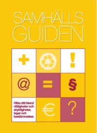 bokomslag Samhällsguiden : en handbok i offentlig service 2018