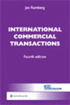 bokomslag International commercial transactions
