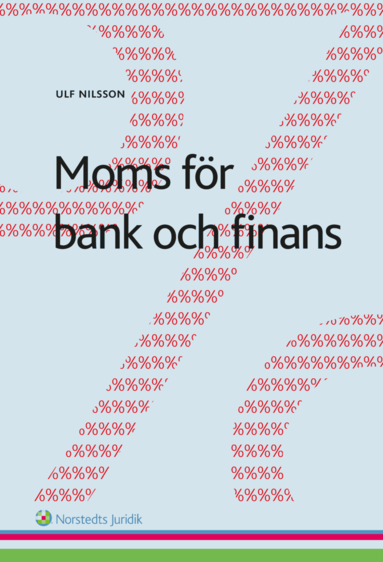 bokomslag Moms för bank och finans