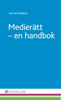 bokomslag Medierätt : en handbok