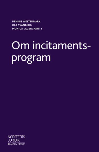 bokomslag Om incitamentsprogram : En introduktion