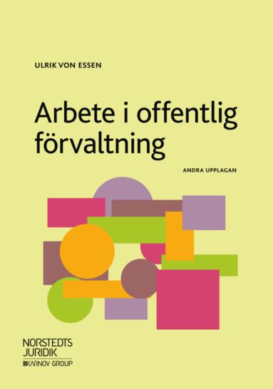 bokomslag Arbete i offentlig förvaltning
