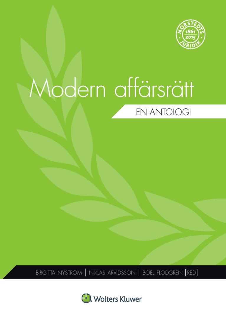 Modern affärsrätt : en antologi 1