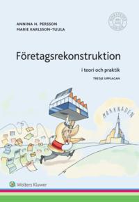 bokomslag Företagsrekonstruktion : i teori och praktik